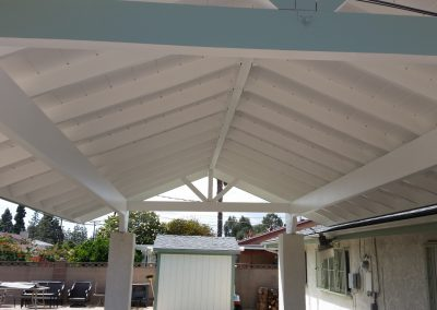 Patio cover painted-1600