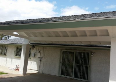 Patio cover painted 2-1600